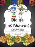 Dia de Los Muertos Activity Pack { SPANISH }