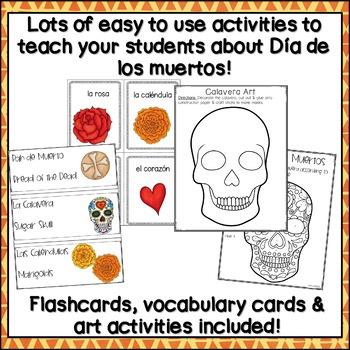 Dia de Los Muertos Activities Spanish