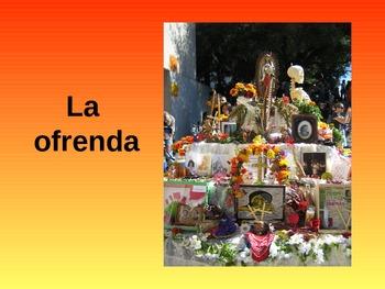 Dia de Los Muertos - Day of the Dead Power Point (IMPROVED)