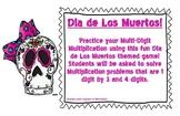 Dia de Los Muertos Multiplication Game