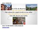 Cultura: Dia de Muertos - La niña que recuerda