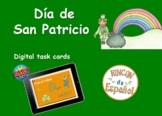 Día de San Patricio: Digital Task Cards (BOOM CARDS). Dist