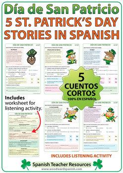 Día de San Patricio - Lecturas - 5 Saint Patrick's Day Stories in Spanish