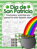 Dia de San Patricio - Spanish activity packet!