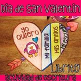 Día de San Valentín Actividad: Librito de Amor/Craftivity
