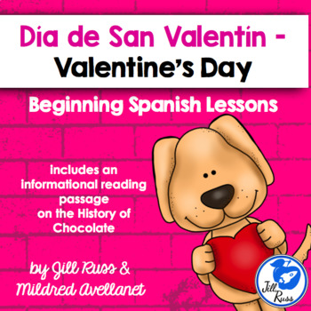 San Valentín Beginning Spanish with Chocolate Informational Text
