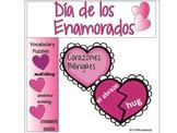 "Dia de San Valentin ""Corazones Bilingües"""