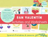 San Valentín Spanish Lesson - Valentine's Day