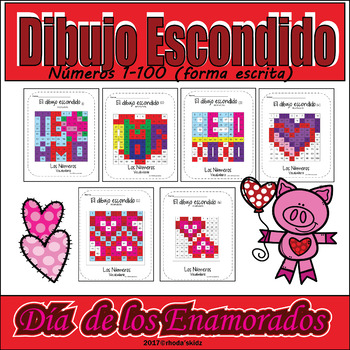 Dia De Los Enamorados Worksheets Teaching Resources Tpt