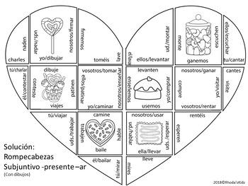 Día de San Valentín- Presente Subjuntivo