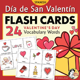 Día de San Valentín - Spanish Valentine's Day Flash Cards