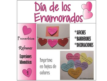 Dia de San Valentine/Dia de los Enamorados Proverbios 1
