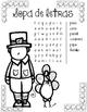 Stem en espanol: Día de acción de gracias (Science interactive notebook)