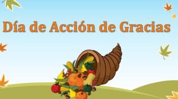 Dia de accion de gracias literacy centers