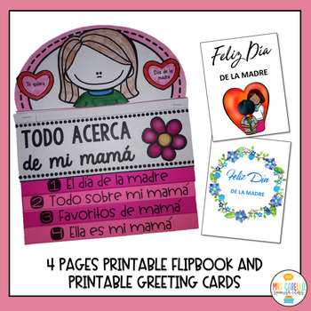 Dia de la Madre Bundle Activity Pack (Mother's day in Spanish)
