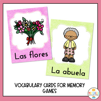 Dia de la Madre Cards, Bingo, Worksheets and more! (Mother's Day in Spanish)