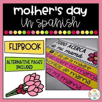 Dia de la Madre Flipbook (Mother's day in Spanish)