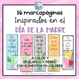 Día de la Madre Inspired Bookmarks Spanish Mother's Day