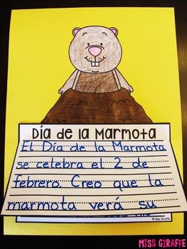 Día de la Marmota NO PREP Writing Craft