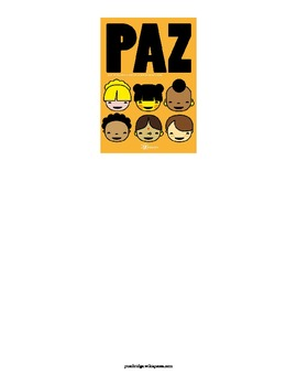 Dia de la Paz- Peace Study for Spanish 3-4 January 30