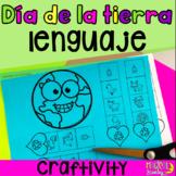 Día de la tierra lenguaje   Spanish Earth Day Language Craft for Speech Therapy
