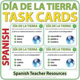 Día de la Tierra - Spanish Task Cards - Earth Day