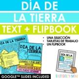 Día de la Tierra Text + Flipbook - Spanish Earth Day - Dis