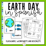 Earth Day in Spanish Activity Pack
