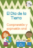 Día de la Tierra actividades orales / Earth Day Listening & Speaking in Spanish