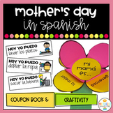 Mother's day in Spanish Coupons and craft - Dia de la Madre