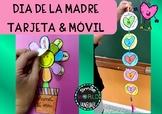 Día de la madre Mother's day Craftivity tarjetas y móvil e
