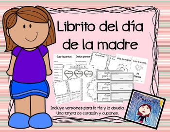 Día de la madre: librito, cupones y más.
