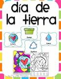 Día de la tierra-Earth Day Color by number with 4 bonus posters April 22!
