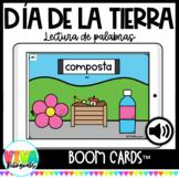 Día de la tierra | Earth Day Reading Boom Cards™ in Spanish