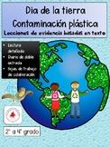 Día de la tierra, contaminación plástico
