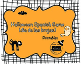 Halloween Spanish Game (dia de las brujas)