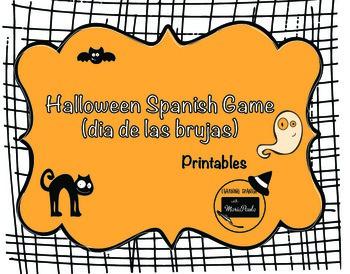 Halloween Spanish Game (dia de las brujas)