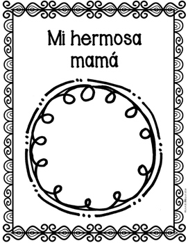 Spanish Mother's Day Packet: Dia de las madres con hojas para abuelitas