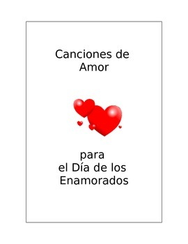 Dia de los Enamorados/ San Valentin canciones
