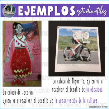 Pre & AP Spanish * Día de los Muertos * Day of the Dead Calaquitas del Futuro