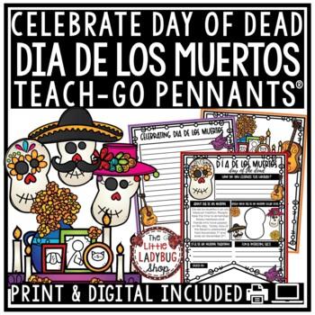 Dia de los Muertos Activity - Day of The Dead [Halloween] • Teach- Go Pennants™