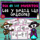 Dia de los Muertos Activity: Sentences in Spanish - Palabras de uso frecuente