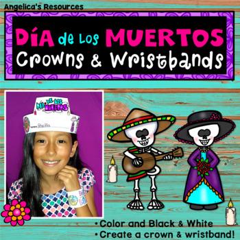 Dia de los Muertos Activity: SPANISH Crowns & Wristbands Craft