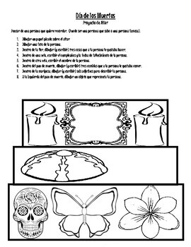 Día de los Muertos Altar Project (ONE class period)