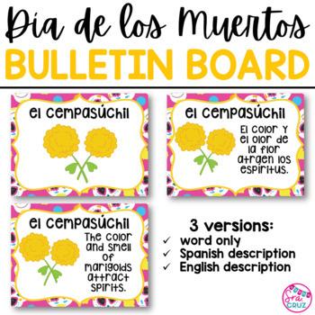 Dia de los Muertos Bulletin Board Set / Day of the Dead Bulletin Board