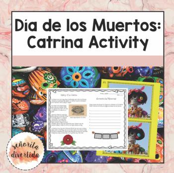 Día de los Muertos Catrina Activity