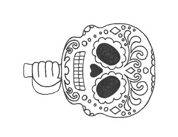 Dia de los Muertos Craft and Worksheets (Day of the Dead)