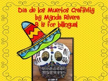 Dia de los Muertos Craftivity (English & Spanish)