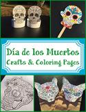 Día de los Muertos Crafts and Coloring Pages