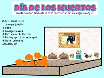 Dia de los Muertos- Day of the Day Activity Pack 2`